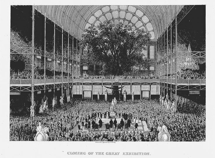 The Crystal Palace - closing the great exhibition
