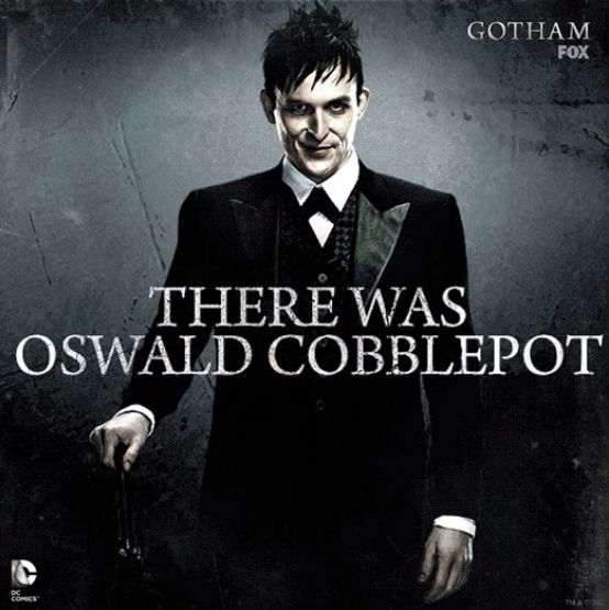 Robin Lord Taylor as Oswald Cobblepot for the upcoming Fox series GOTHAM.