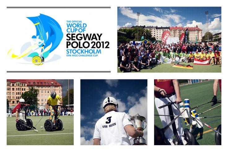 Delarrangör för Segway Polo VM i Stockholm 2012