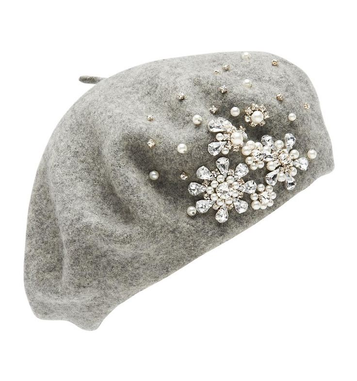 Danni Jewelled Beret - Forever New