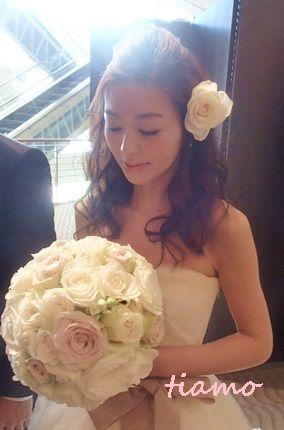 美人花嫁さまの素敵な3スタイル♡後編♡|大人可愛いブライダルヘアメイク『tia… |Ameba (アメーバ)