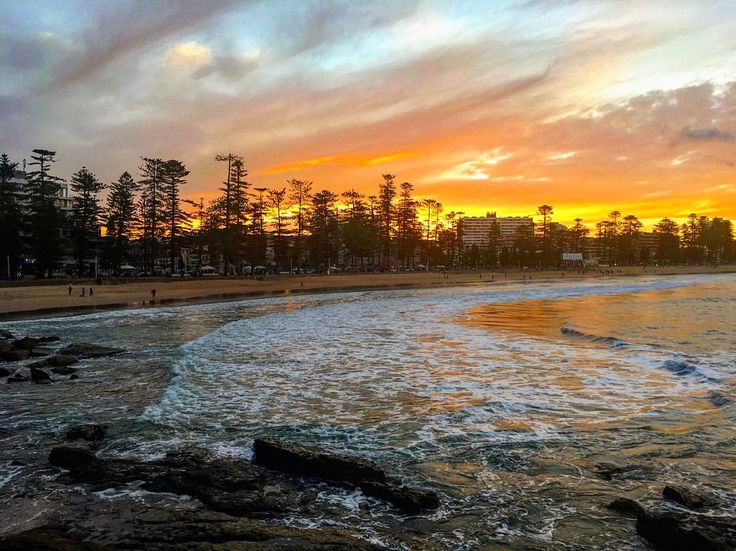 Sunset at Manly Beach is one of my best memories from Australia