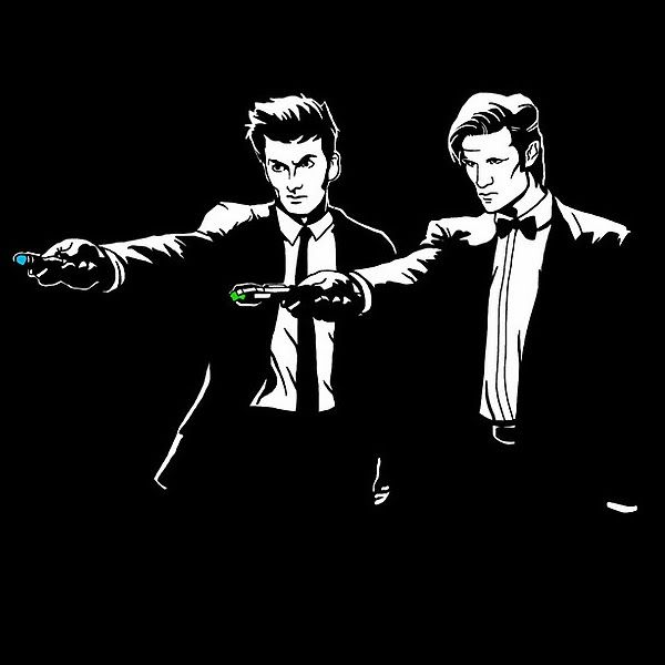 David Tennant & Matt Smith Doctor Who T Shirt Offer