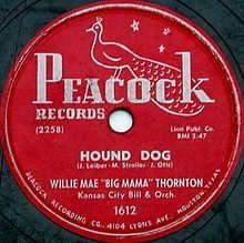 """Hound Dog: In 1952, while in Houston, Texas, Otis auditioned singer Willie Mae 'Big Mama' Thornton. Otis produced, co-wrote, and played drums on the original 1953 recording of """"Hound Dog"""" (he and his band also provided the backup 'howling' vocals). It was also co-written by Jerry Leiber and Mike Stoller, He had a legal dispute with the songwriting duo over the credits after he learned that Leiber and Stoller revised the contractual agreement prior to a new version of the song recorded by…"""