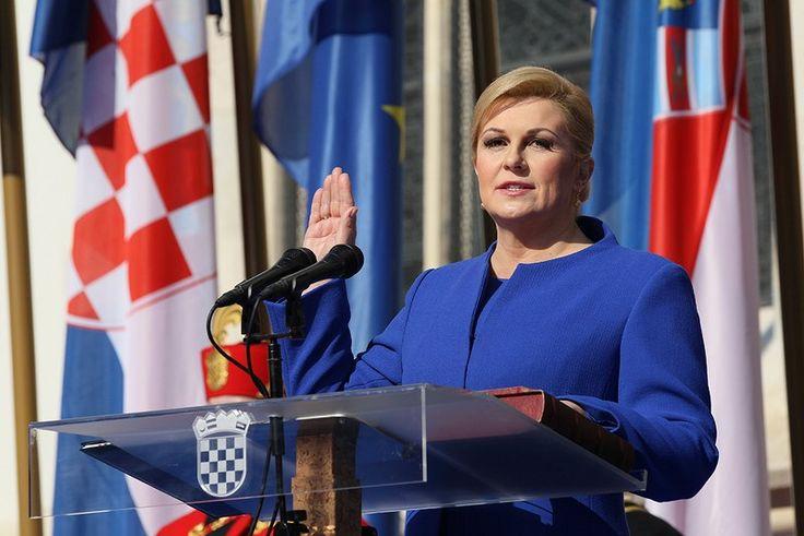 Croacia tiene a la primera presidenta de su historia