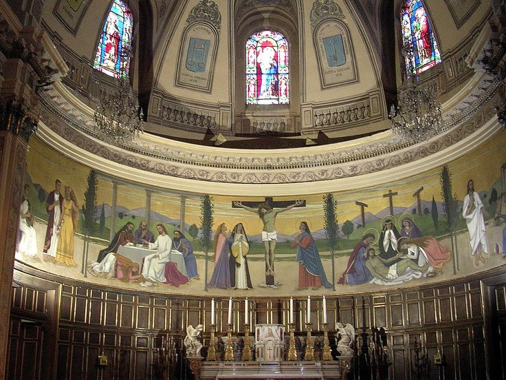 Choeur de l'église de la Madeleine (1829) - Mont-de-Marsan (Landes) — Wikipédia