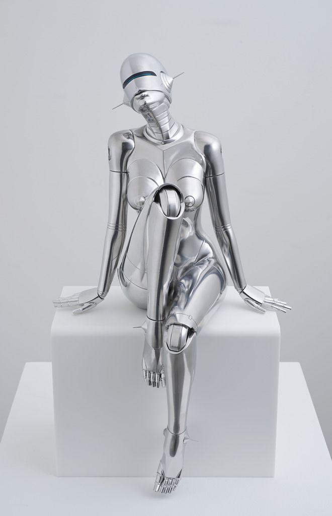 Hajime Sorayama's Futuristic Portrayals of Bio-mechanoid Women | Hi-Fructose Magazine
