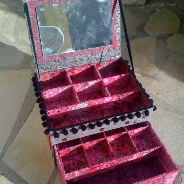Les 333 meilleures images propos de boites en carton sur for Boite a couture fille