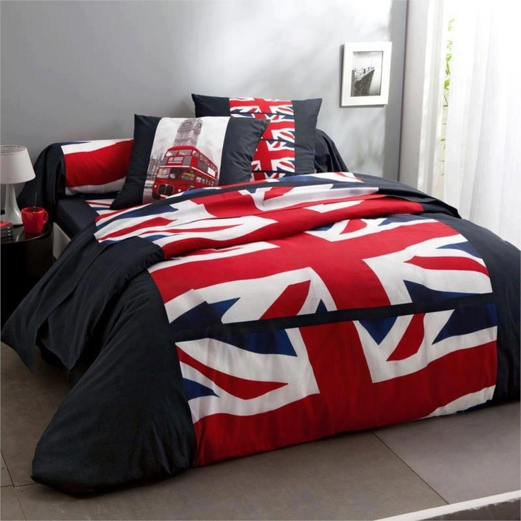 Union Jack (Maybe just the comforter - the rest is a bit overwhelming)