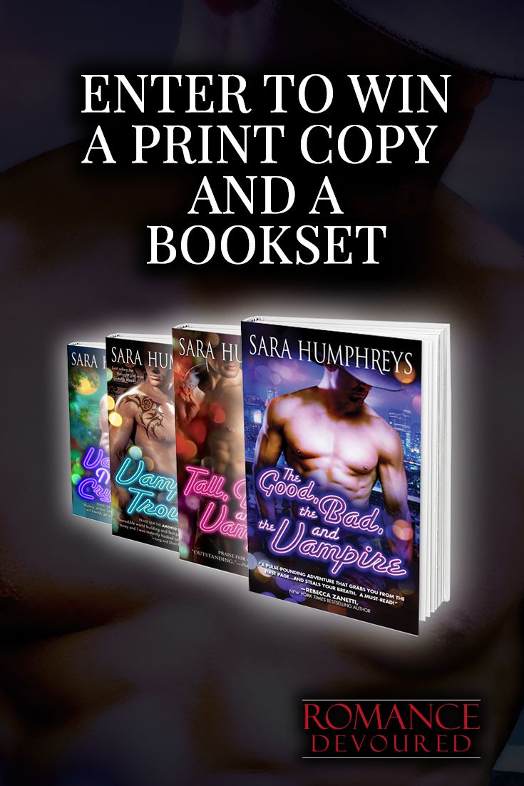 Win Signed Copies from Award-Winning, Bestselling Author Sara Humphreys
