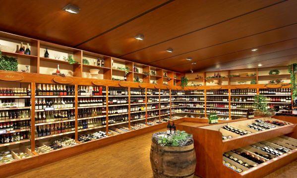 Liquor Store With Birch Wood Shelves Liquor Store Designs Pinterest Liquor Store Wood Shelves And Liquor