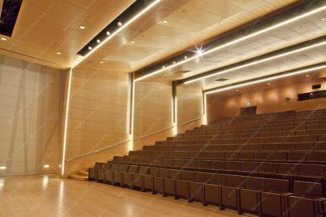 Devon energy auditorium interior google search for Interior lighting design standards