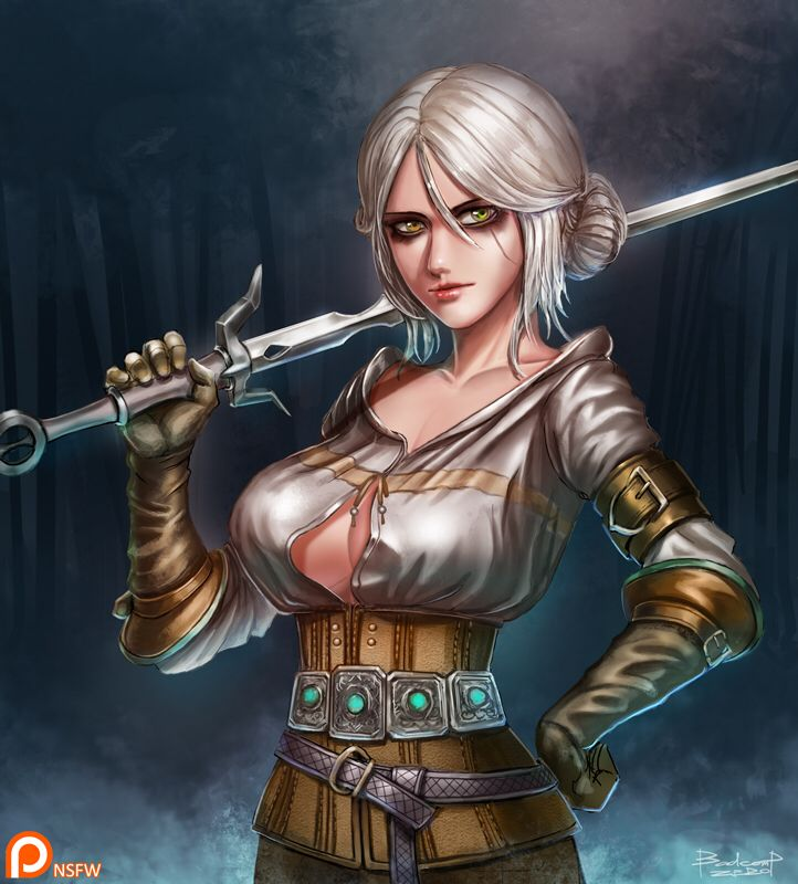 Son The witcher hentai like