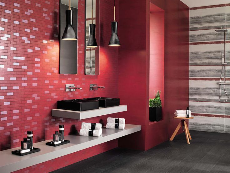 Creative color and decors for bathrooms | Trends by Elle Decor |