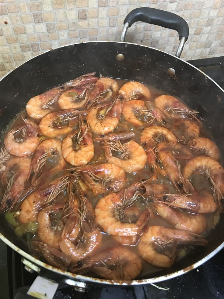 Jamaican pepper shrimps