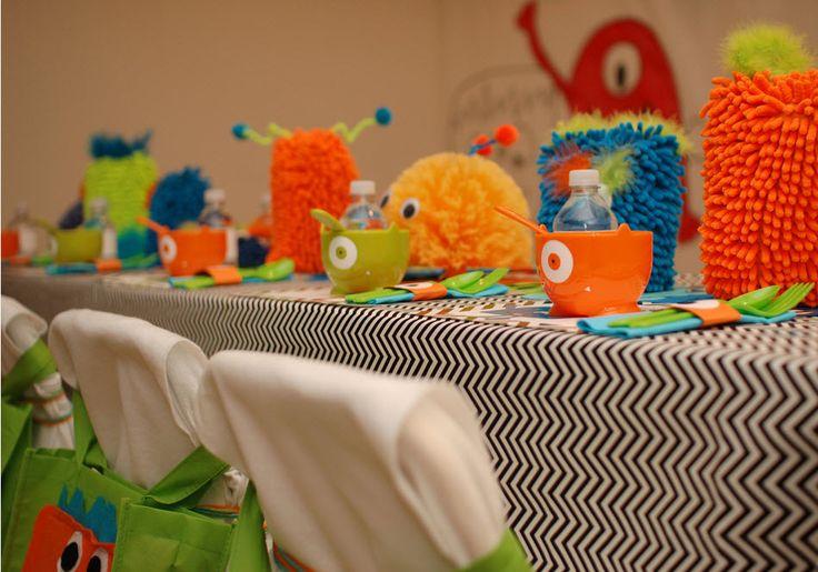 Little Monster Birthday Party — precious ideas