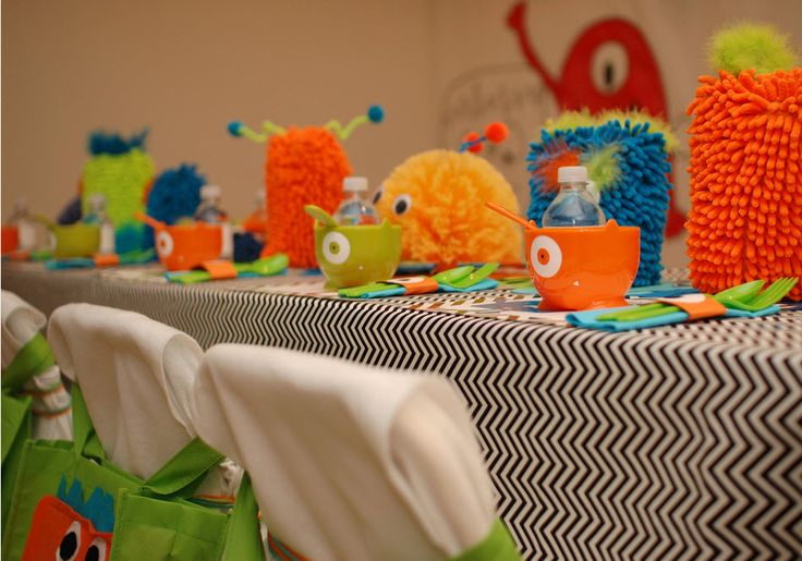 Little Monster Birthday Party — precious ideas