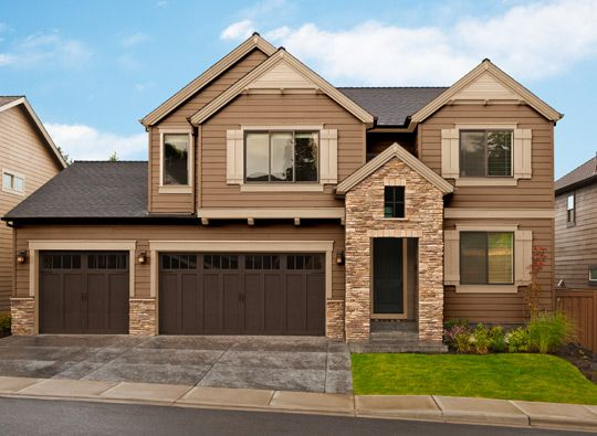 I Like The Garage Doors And The Roof Line Would Like Our