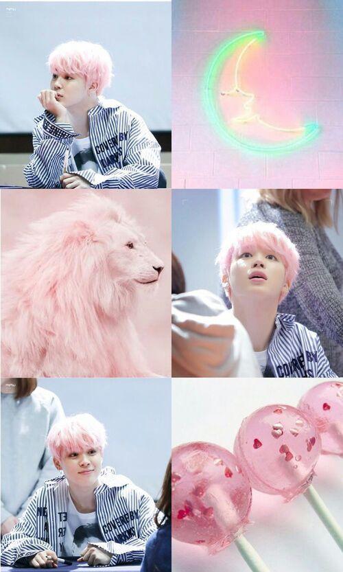 Resultado de imagem para jimin pink hair
