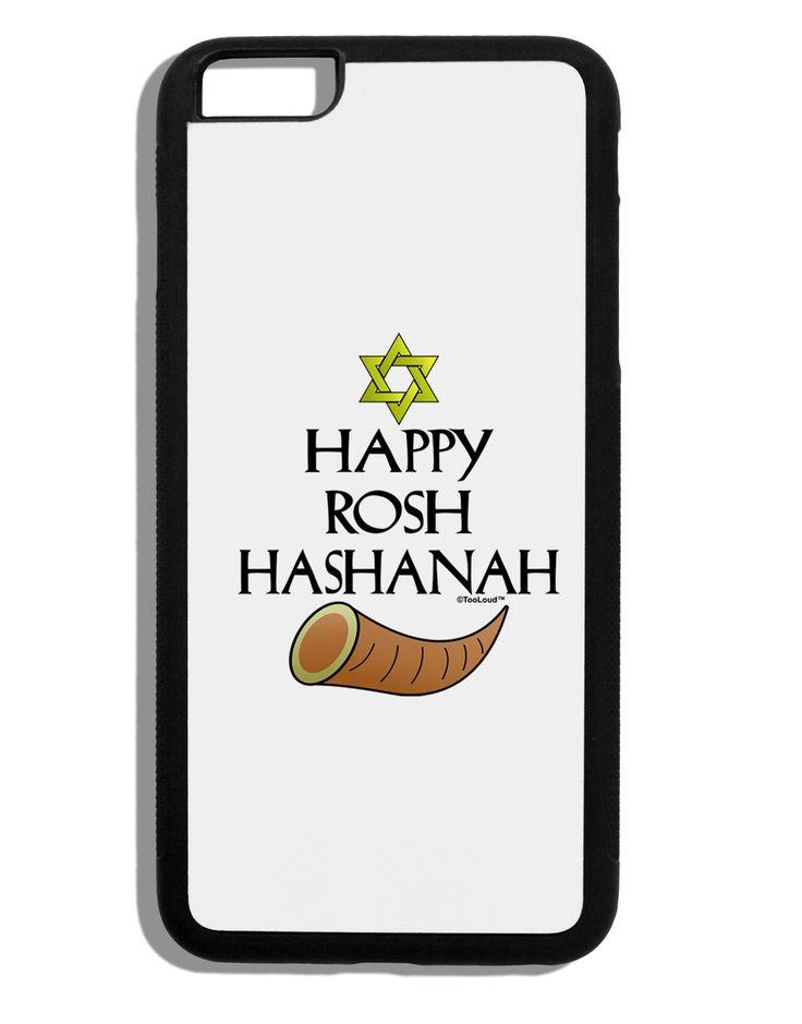 Happy Rosh Hashanah Black Dauphin iPhone 6 Plus Cover