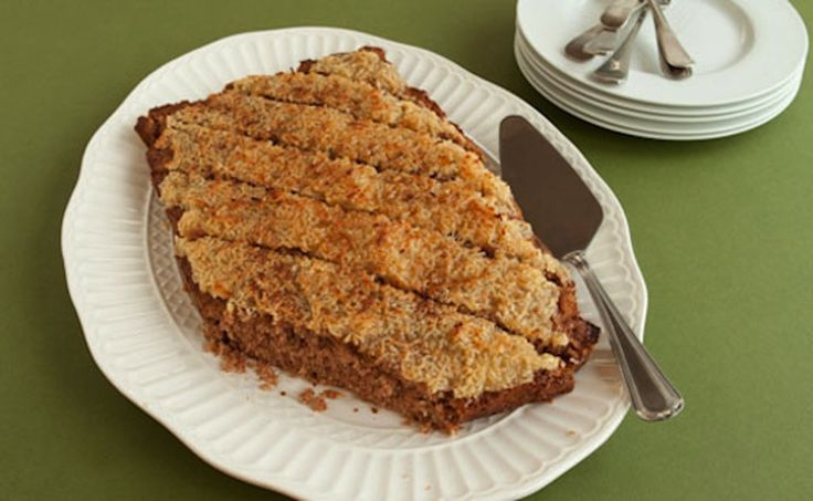 #Epicure Old-fashioned Oatmeal Cake #meatless #vegetarian