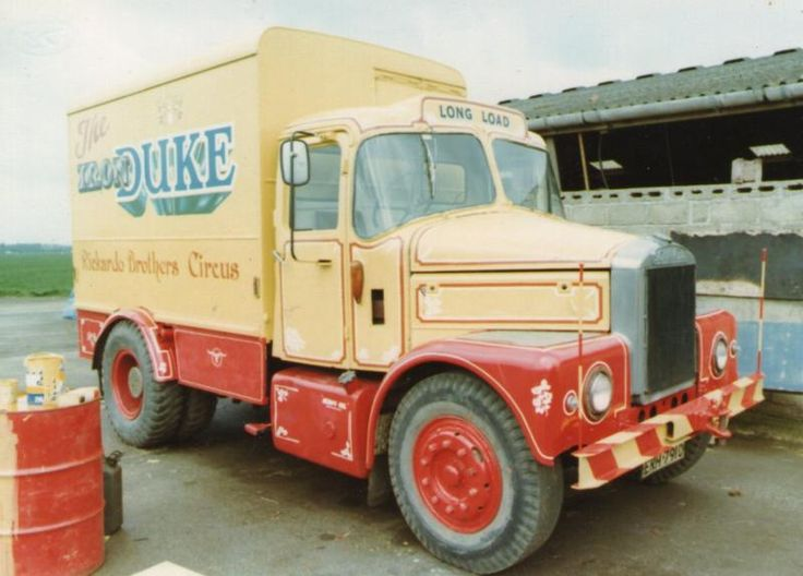 1966 Scammell Highwayman in 1982.