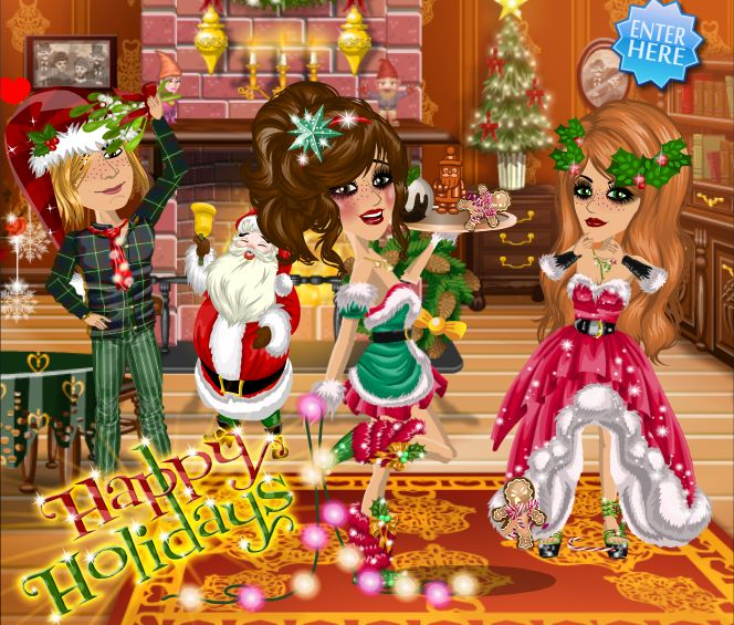 Happy Holidays theme #moviestarplanet #MSP #xmas #christmas www.moviestarplanet.com