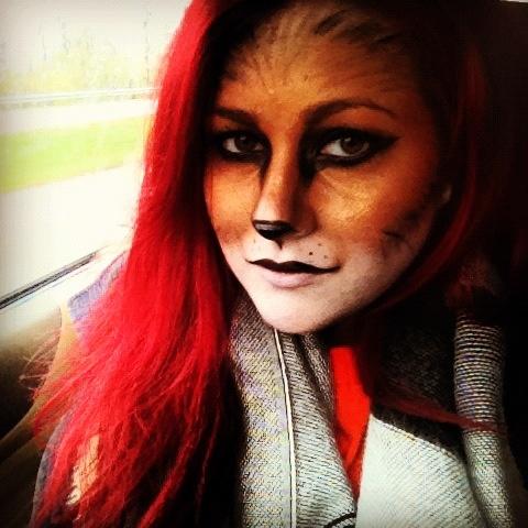 Happy Halloween! Fox makeup