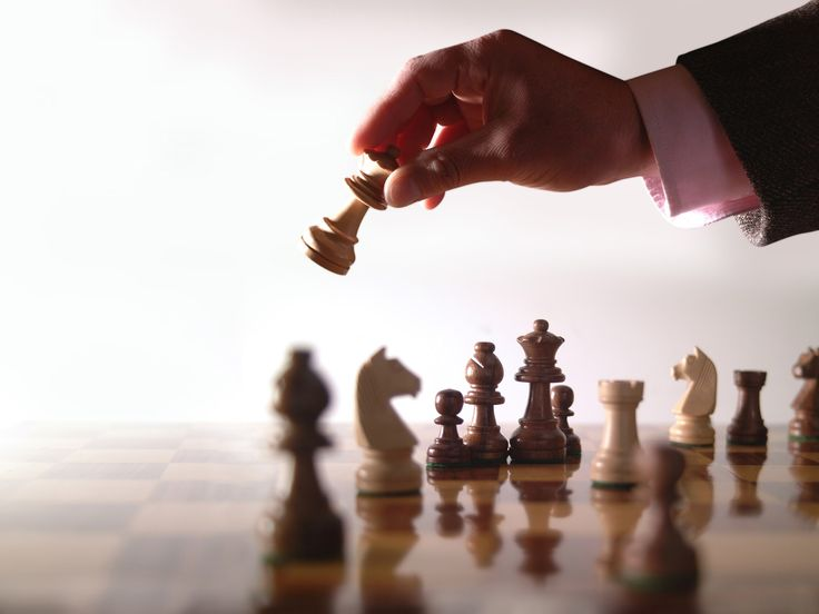 Chess, a strategic board game for real players. *Change Games Entertainment