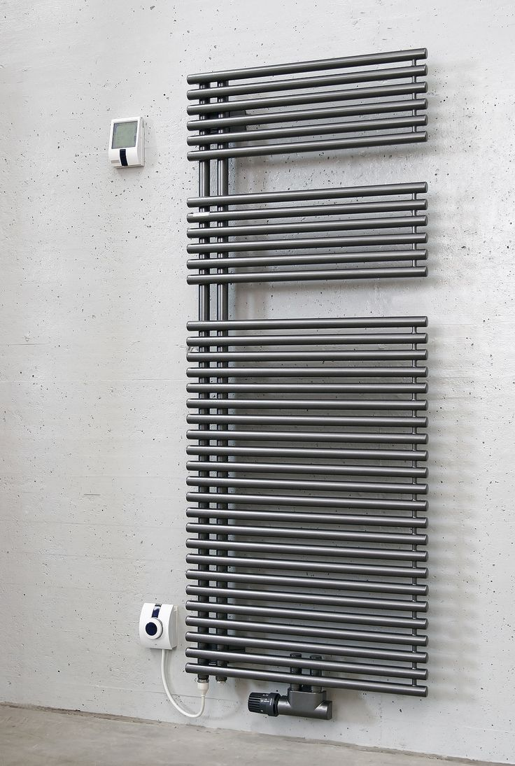 Natasha ladder rail straight modern electric towel radiator in chrome - Towel Rails Dual Fuel For Warm Towels In The Summer
