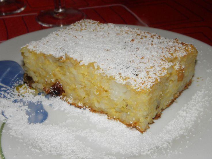 Gyermekkorom ízei: Rizskoch - Rizsfelfújt