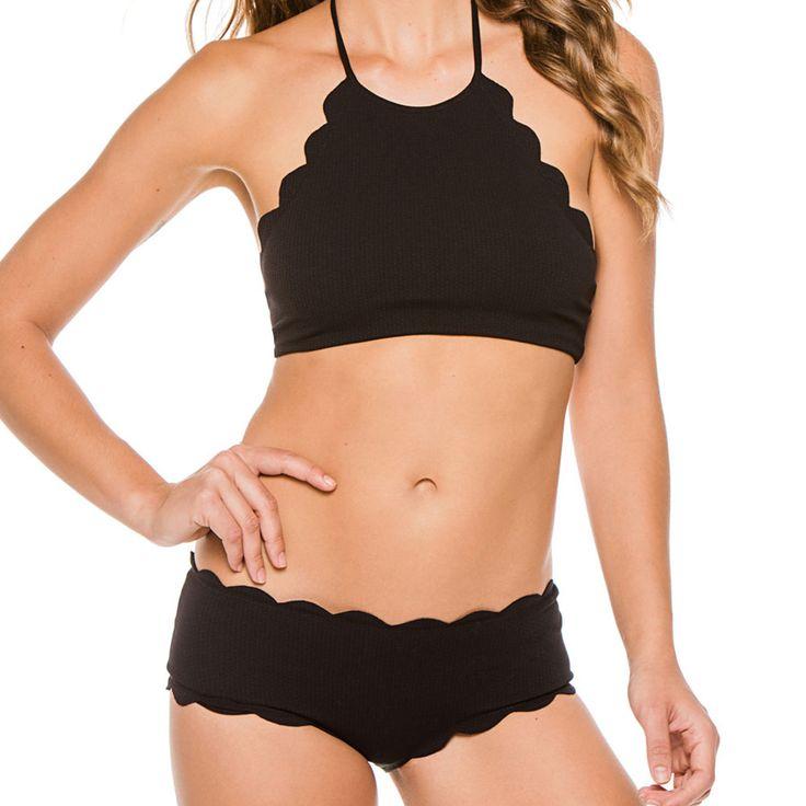 New Black Sexy and red Bikini Set Push Up Strappy Bikini Swimsuit Swimwear Women Bathing Suit Biquini Swimming Suit For Women