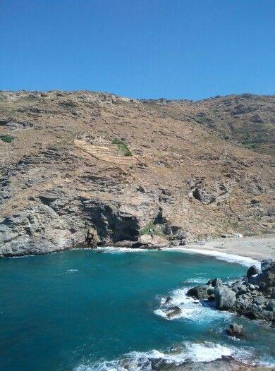 Συνετί, Άνδρος. Syneti, Andros Greece