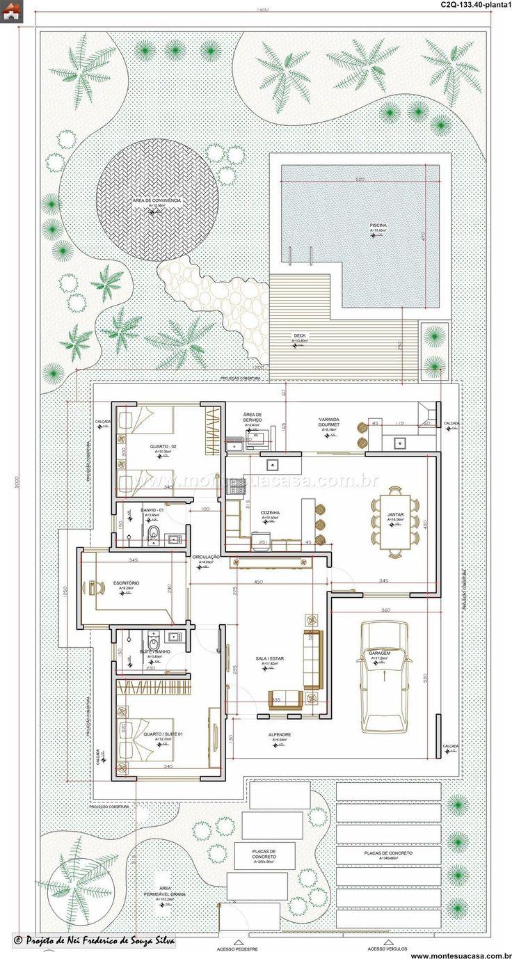 Casa - 2 Quartos - 133.4m²
