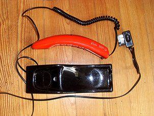 https://flic.kr/p/VPBuhP   Telephone filaire vintage   Téléphone Filaire MATRA année 1970