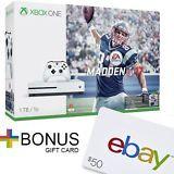 Diskon 14% untuk Xbox One S 1TB Console - Madden NFL 17 Bundle + $50 eBay Gift Card with purchase! Total biaya hanya Rp 7.464.883,80 (Kurs : Rp 13.900,00). Beli sekarang = https://jasaperantara.com/pembelianbarang/ebay/?number=1&calckodepos=15225&query=122242367871&quantity=1&jenis=bin&btnSubmit=Hitung , eBay = http://cgi.ebay.com/122242367871