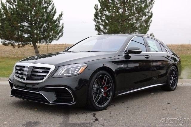 Black 2018 S63 Amg Sedan With Images Mercedes S Class