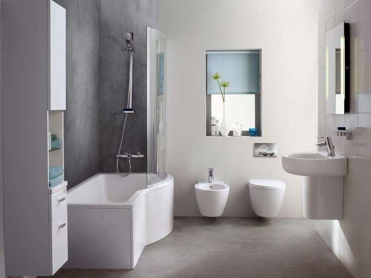 17 migliori idee su Piccoli Bagni Moderni su Pinterest  Bagni piccoli, Disposizione bagno ...
