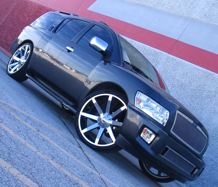 Pics of KMC Slide Black 26 Inch Rims Find the Classic Rims of Your Dreams - www.allcarwheels.com