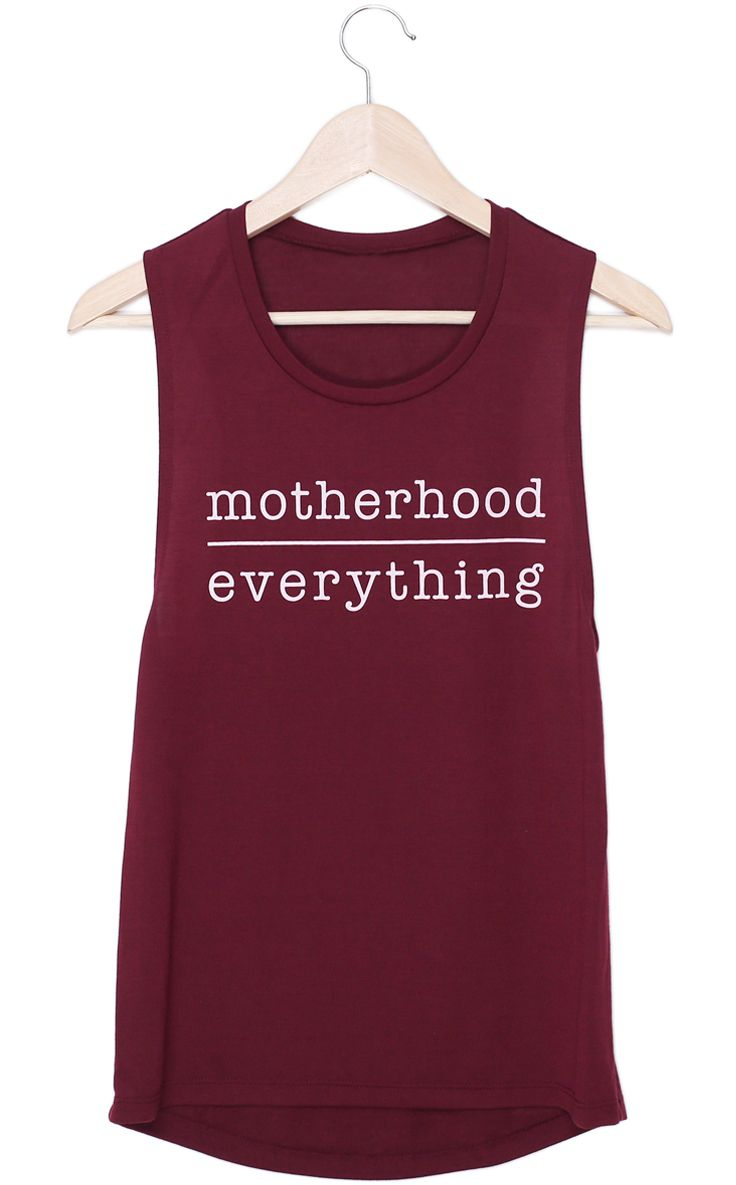 Motherhood Over Everything tank | Baby Chick™