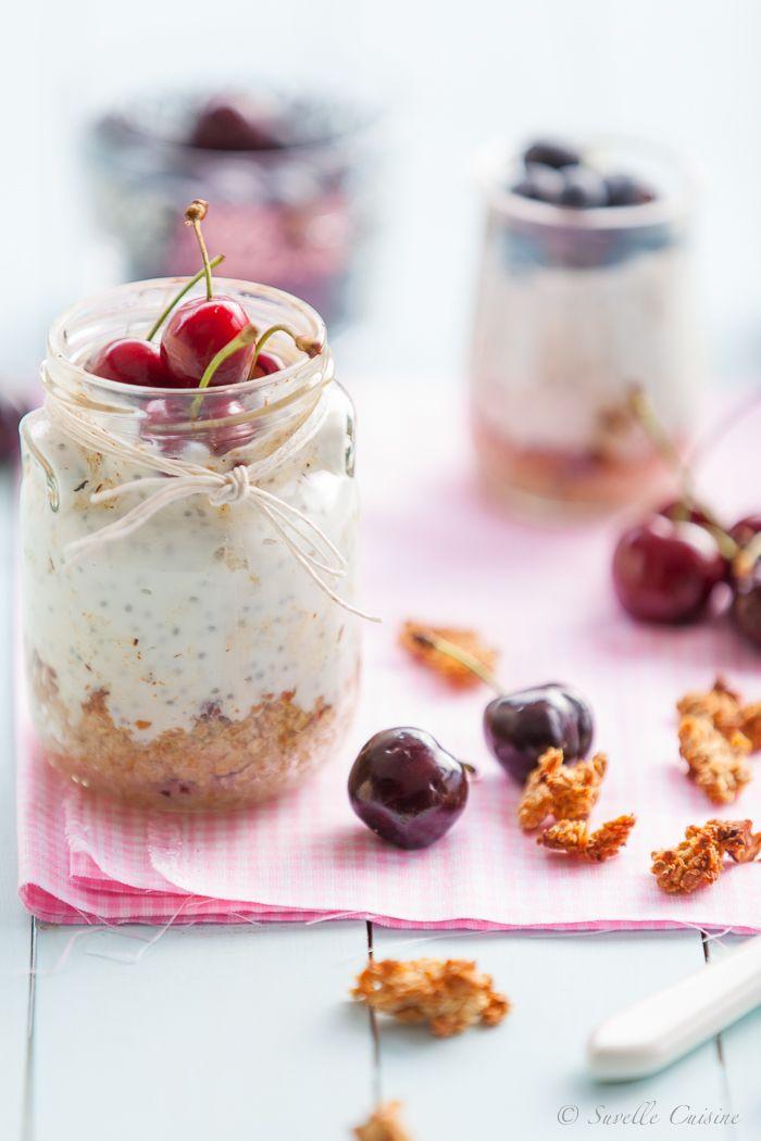 Cheesecake de Iogurte Grego e Chia com base de Granola... e um presente para sempre.