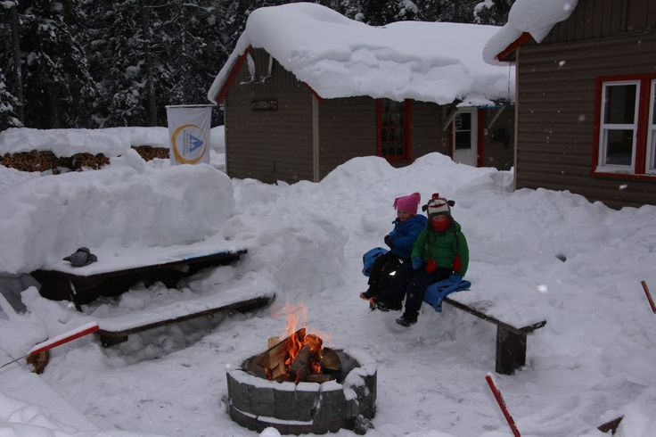 Family Adventures in the Canadian Rockies: Winter Camping with Kids Part Two (no tent!!)