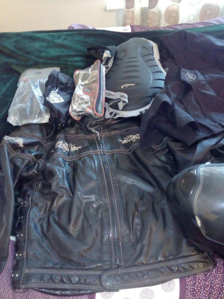 Motorcycle clothings and helmet