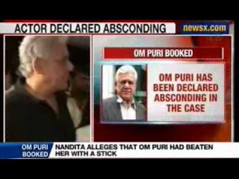 NewsX: Om Puri has been declared absconding in the case