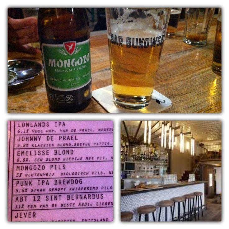 Glutenfree Amsterdam: Glutenvrij bier bij Bar BukowskiGluten-free Amsterdam