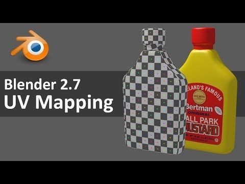 Blender UV Mapping - YouTube