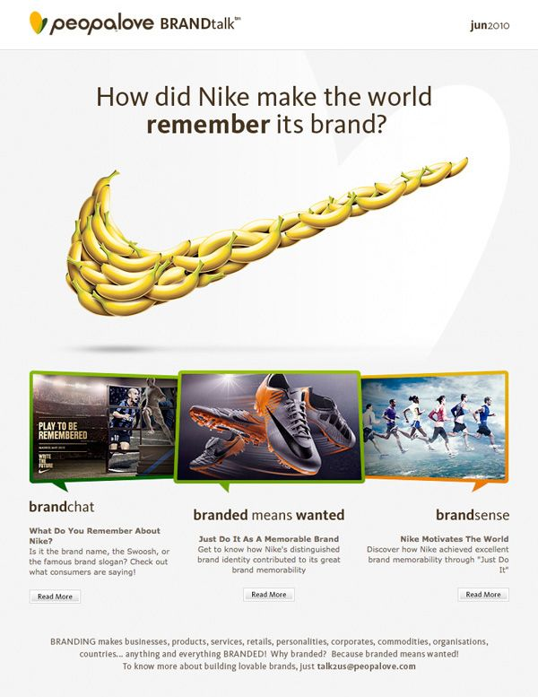 Best Newsletters Images On   Email Marketing Email