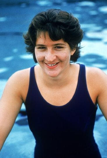 Dawn Fraser 1964 - Australian swimmer Dawn Fraser poses for a photo in Sydney, Australia. Fraser won eight Olympic medals, including four golds, and six Commonwealth Games gold medals. In October 1964 she became the first woman to swim the 100 metres in less than a minute. It was eight years after she retired before her record was broken.