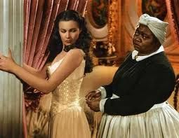 Gone with the wind-  Scarlett and Mammy: Film, Movies Scene, Corsets, Vivienleigh, Africans American, Favorite Movies, Hatti Mcdaniel, Vivien Leigh, Gone With The Wind