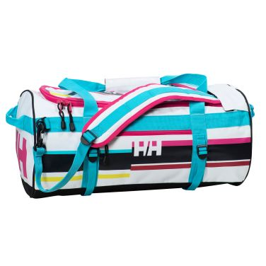 HH DUFFEL BAG 90L The classic 90-liter duffel converts easily into a backpack and offers easy-access pockets for organized storage.Double click to zoom in